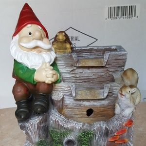 LARGE GNOME FOUNTAIN